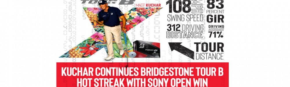 Matt Kuchar Wins – Tour B X Golf Ball